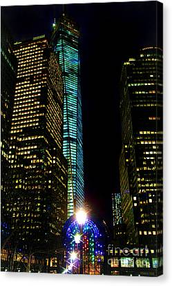 World Financial Center Canvas Print by Mariola Bitner