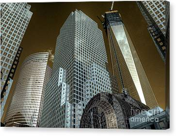 World Financial Centre 3 Canvas Print by Rob Hawkins