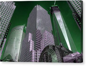 World Financial Centre 4 Canvas Print by Rob Hawkins