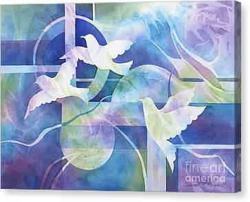 World Peace Canvas Print by Deborah Ronglien
