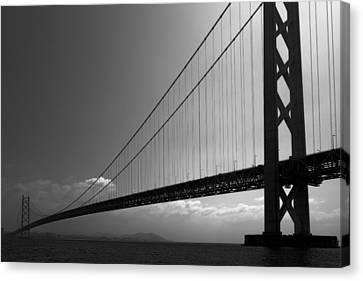 World Record Bridge Canvas Print by Daniel Hagerman