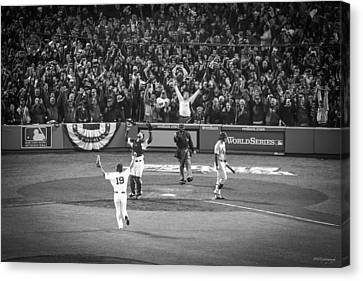 World Series Game Six 1 Canvas Print