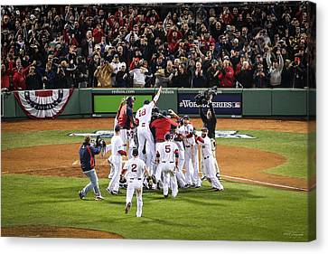 World Series Game Six 5 Canvas Print
