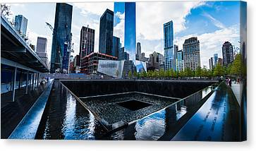 World Trade Center - North Memorial Pool Canvas Print