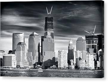 World Trade Center Rebirth Canvas Print by John Rizzuto