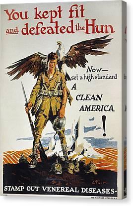 World War I Vd Poster Canvas Print by Granger