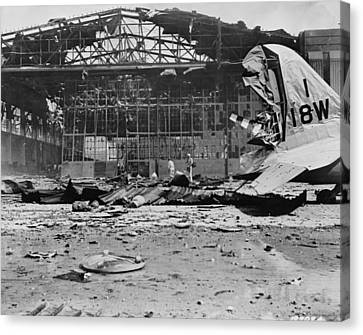 World War II Hickam Field Canvas Print