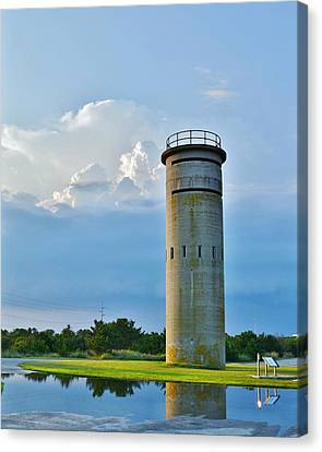 World War II Lookout Tower - Tower Road - Delaware State Park Canvas Print