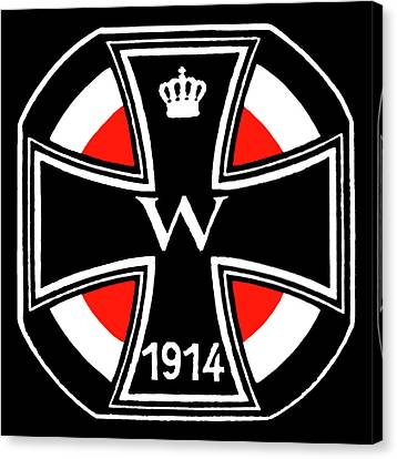 World War One Iron Cross Canvas Print by Historic Image