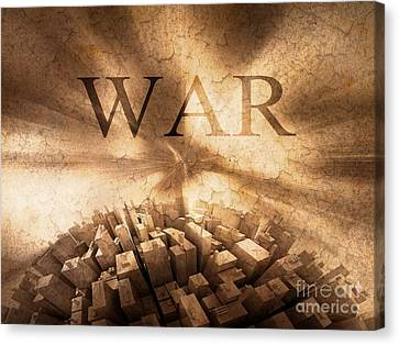 World War  Canvas Print