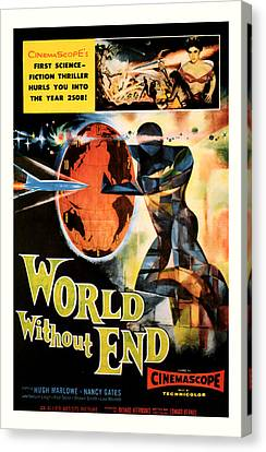 World Without End 1956 Canvas Print by Presented By American Classic Art