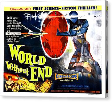 World Without End Poster Canvas Print by Gianfranco Weiss
