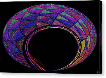 Hopi Canvas Print - Hopi Basket Of Secrets by David Lee Thompson