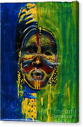 Worldwide Tribal Collection 2 Canvas Print
