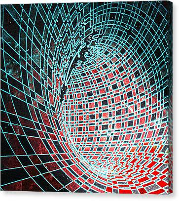 Wormhole Canvas Print by Twilight Vision