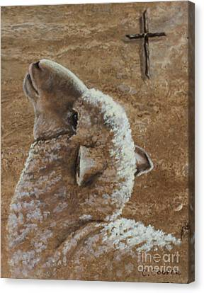 Worthy Is The Lamb Canvas Print