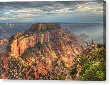 Canvas Print featuring the photograph Wotan's Throne by Jeff Cook