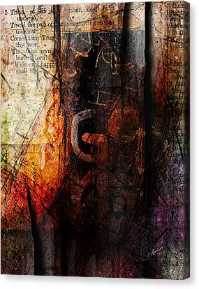 Wounded  Canvas Print by Gary Bodnar