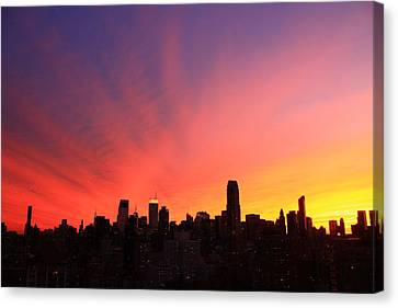 Wow Canvas Print