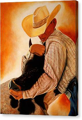 Wrangler Canvas Print