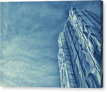Wrapped Cathedral Canvas Print