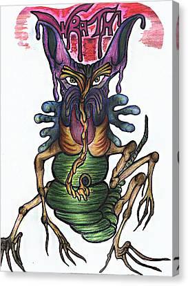 Wrath Canvas Print by Tiffany Selig