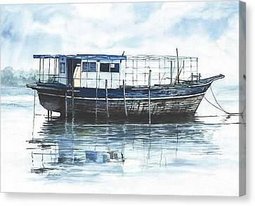 Wreck Canvas Print by Ahmed Amir