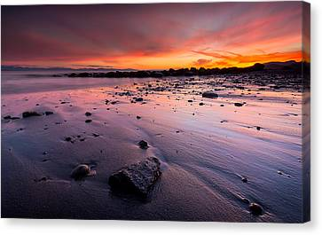 Wreck Beach Sunset Canvas Print