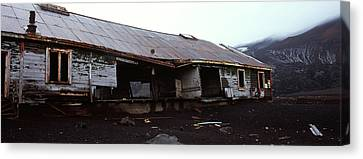 Wreckage Of A Whaling Station, Whalers Canvas Print by Panoramic Images