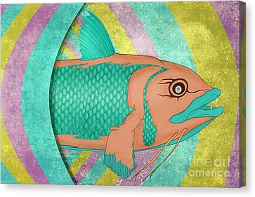 Wreckfish Canvas Print by Bruce Stanfield