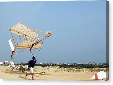 Wright Brother's Glider Replica Canvas Print