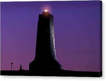Canvas Print featuring the photograph Wright Brothers Memorial by Greg Reed
