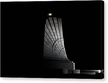 Canvas Print featuring the photograph Wright Brothers Memorial II by Greg Reed