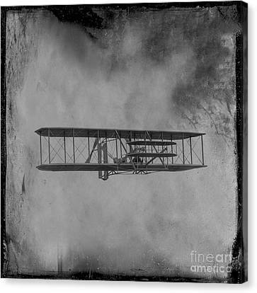 Wright Flyer First Flight Canvas Print