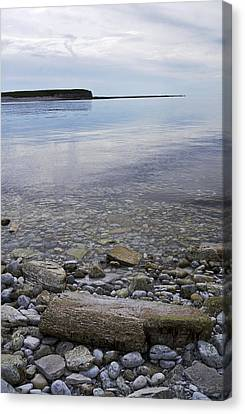Canvas Print featuring the photograph Wright Isld From Naked Isls by Arkady Kunysz