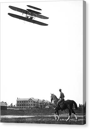 Wright Military Flyer Canvas Print by Library Of Congress