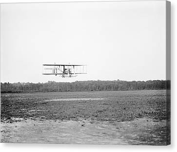 Wright Model B Airplane Canvas Print by Library Of Congress