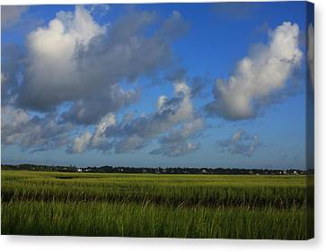 Wrightsville Beach Marsh Canvas Print by Mountains to the Sea Photo