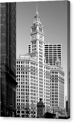 Wrigley Building - A Chicago Original Canvas Print by Christine Till