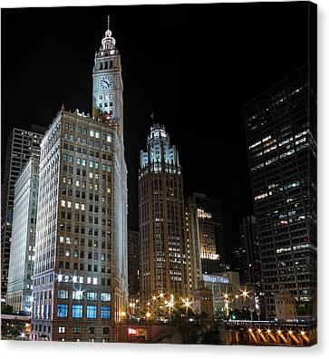 Wrigley Building Canvas Print