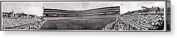 Wrigley Field 1929 Panorama Canvas Print by Benjamin Yeager