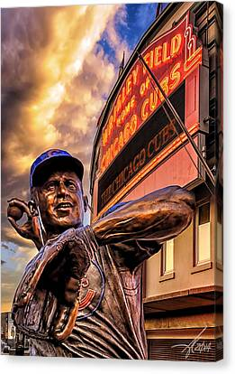 Wrigley Field Legend Canvas Print