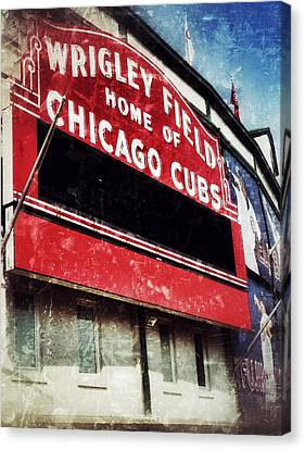 Wrigley Red Canvas Print by Jame Hayes