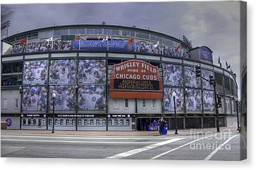 Wrigley's New Wallpaper Canvas Print by David Bearden