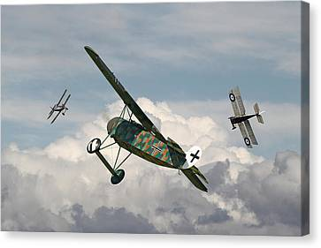 Ww1 - Spoiled For Choice Canvas Print by Pat Speirs
