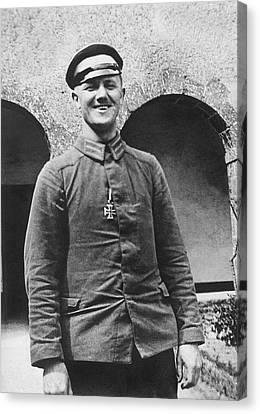 1916 Canvas Print - Wwi German Prisoner by Underwood Archives