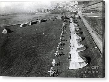 Wwi, Manfred Von Richthofens Flying Canvas Print