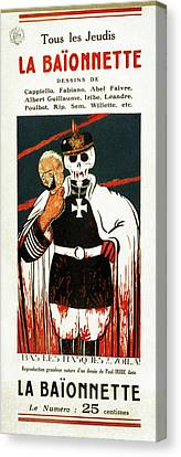 Wwi Poster, 1916 Canvas Print by Granger