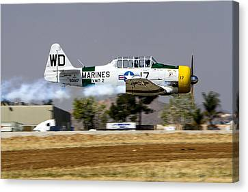 Wwii Fighter 1 Canvas Print