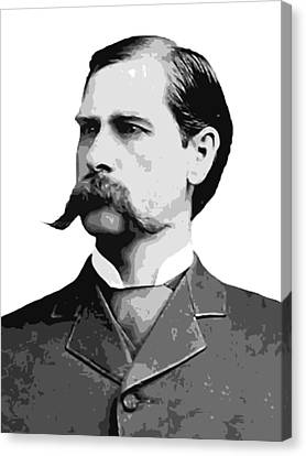 Wyatt Earp Old West Legend Canvas Print